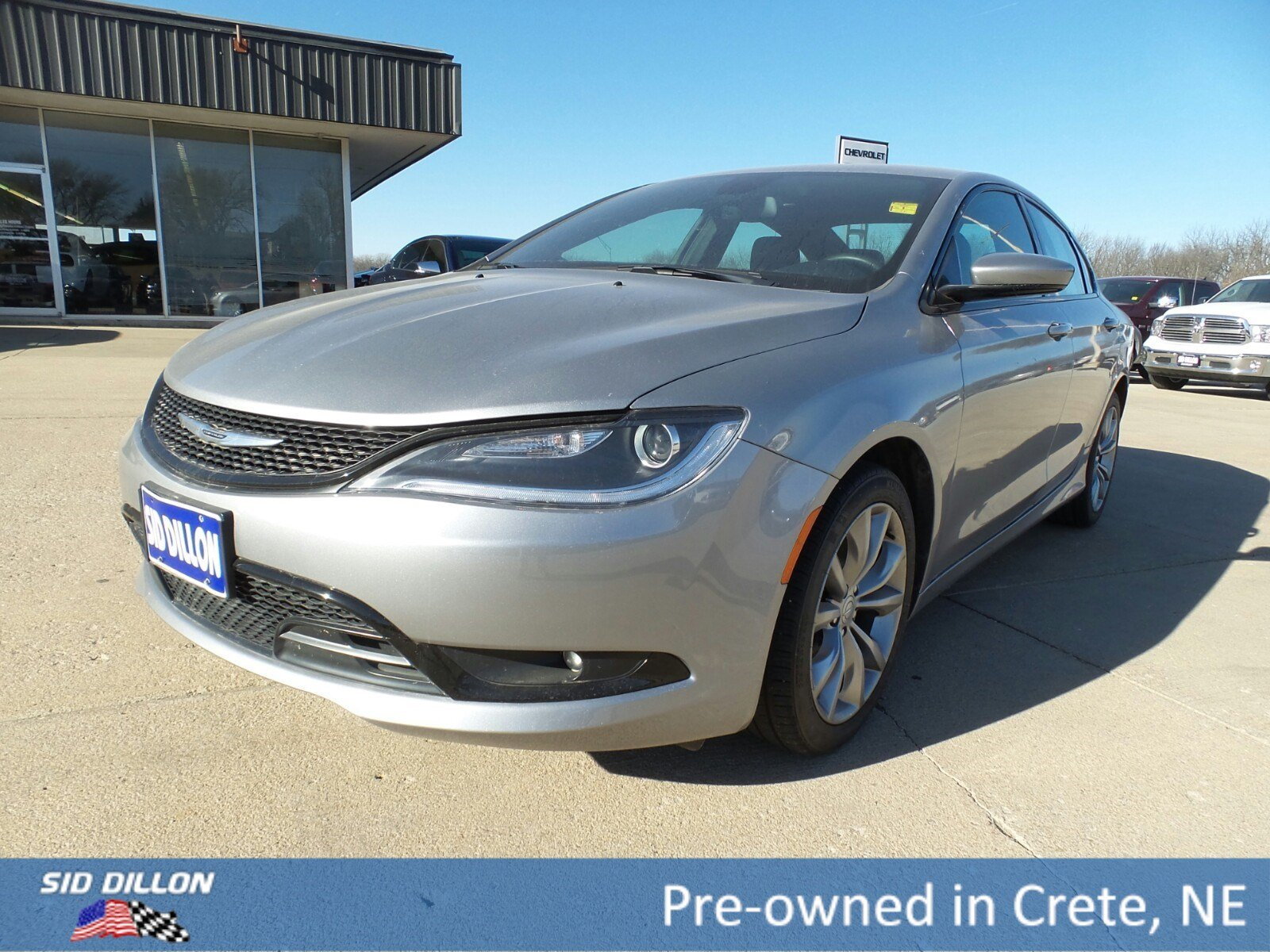 Pre Owned 2016 Chrysler 200 S 4 Door Sedan In Crete