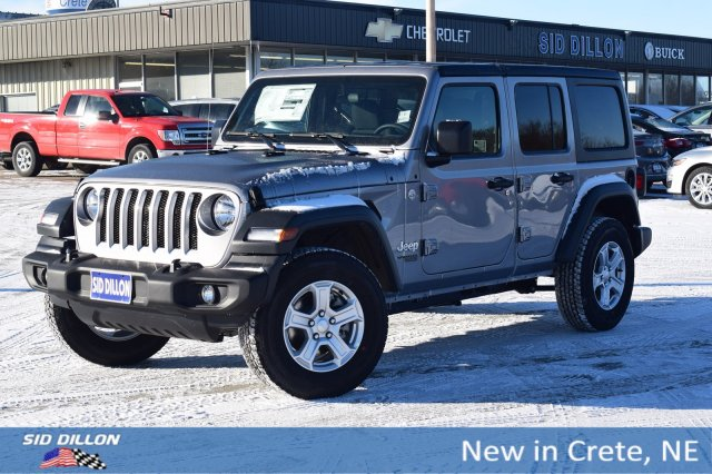 Jeep Wrangler For Sale In Sc >> New 2019 Jeep Wrangler Unlimited Sport S 4wd