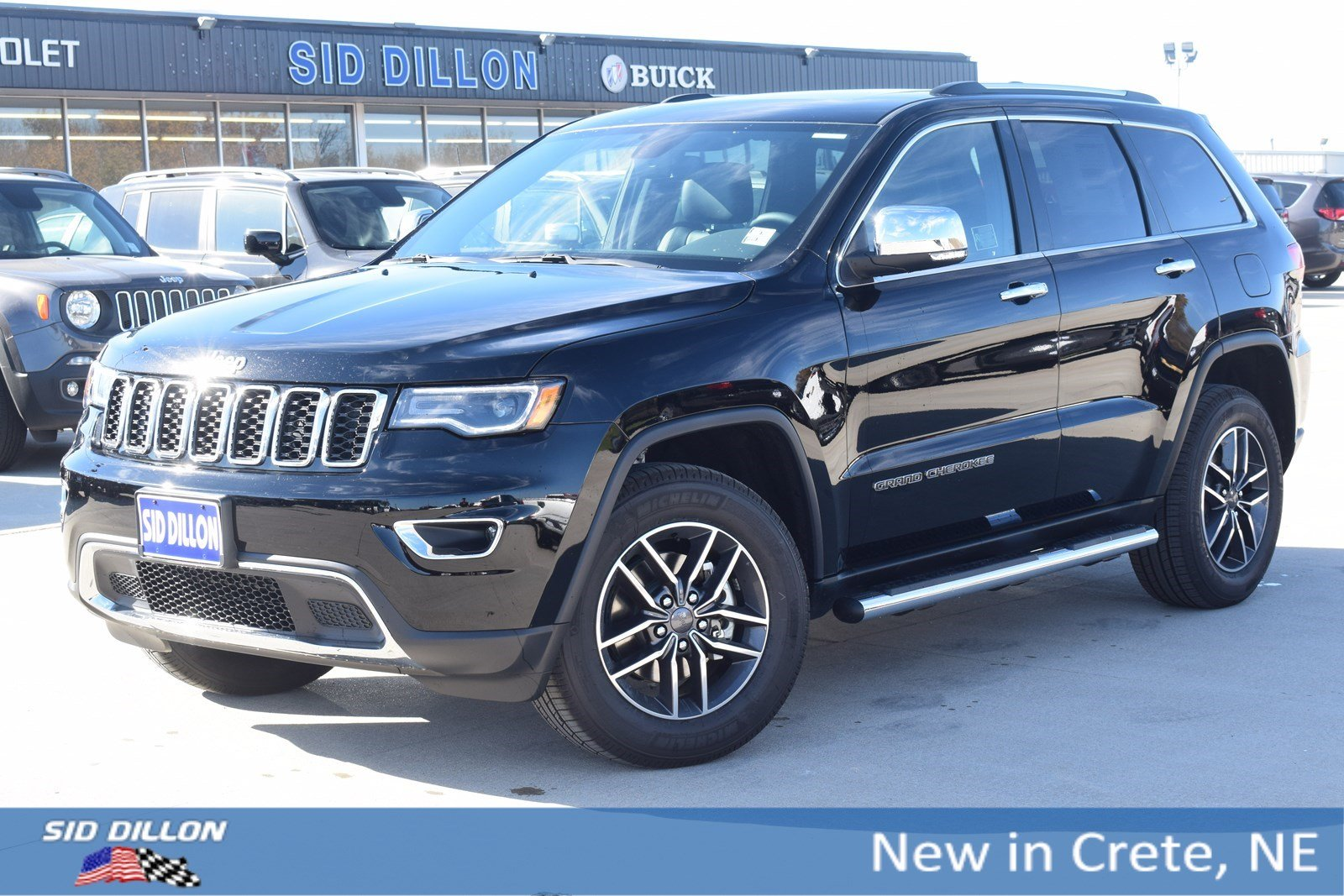 New 2019 Jeep Grand Cherokee Limited Suv In Crete 6d1697 Sid Trailer Hitch Wiring