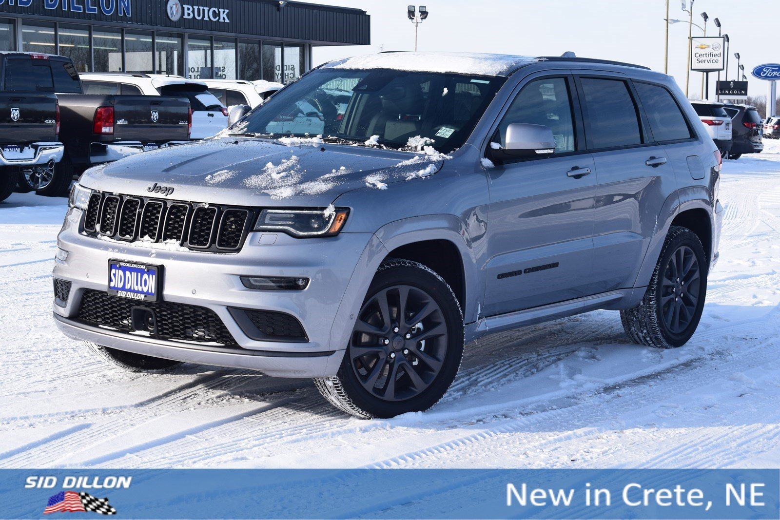New 2018 Jeep Grand Cherokee Overland Suv In Crete 6d1583