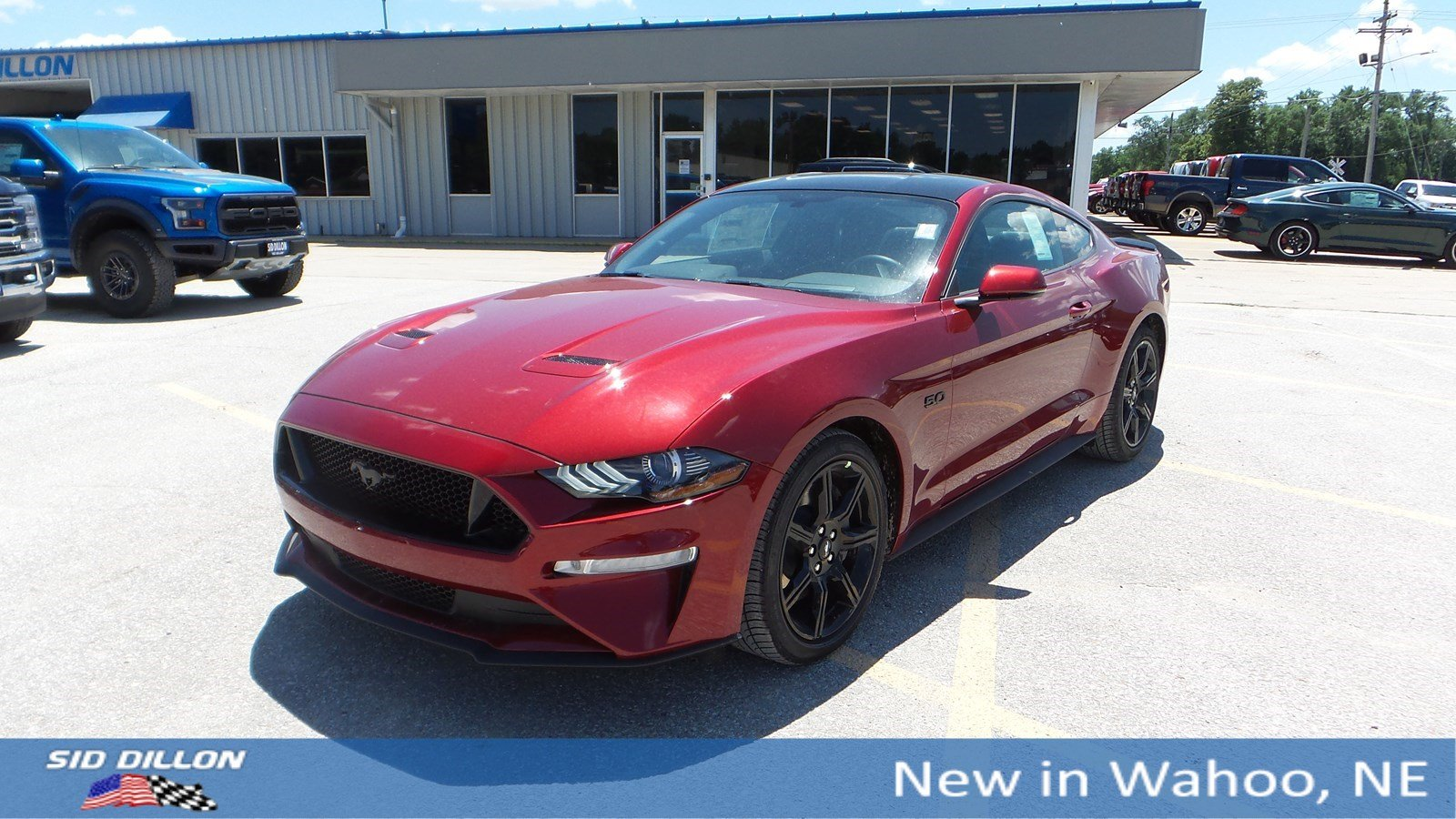 Performance Ford Omaha >> New 2019 Ford Mustang Gt Premium Rwd 2 Door Coupe