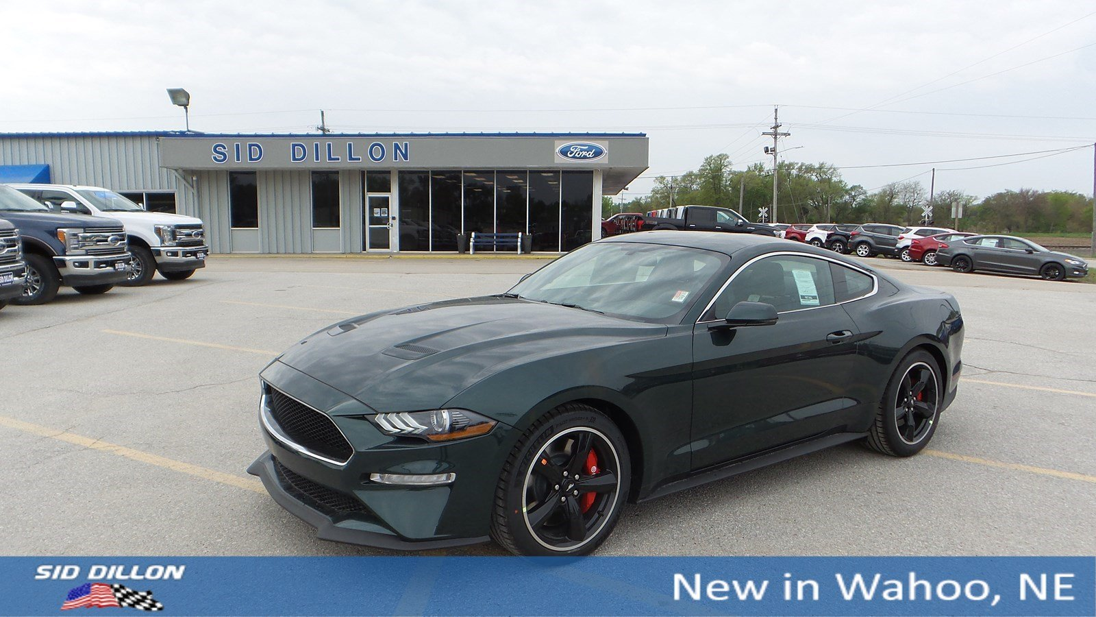 Performance Ford Omaha >> New 2019 Ford Mustang Bullitt Rwd 2 Door Coupe