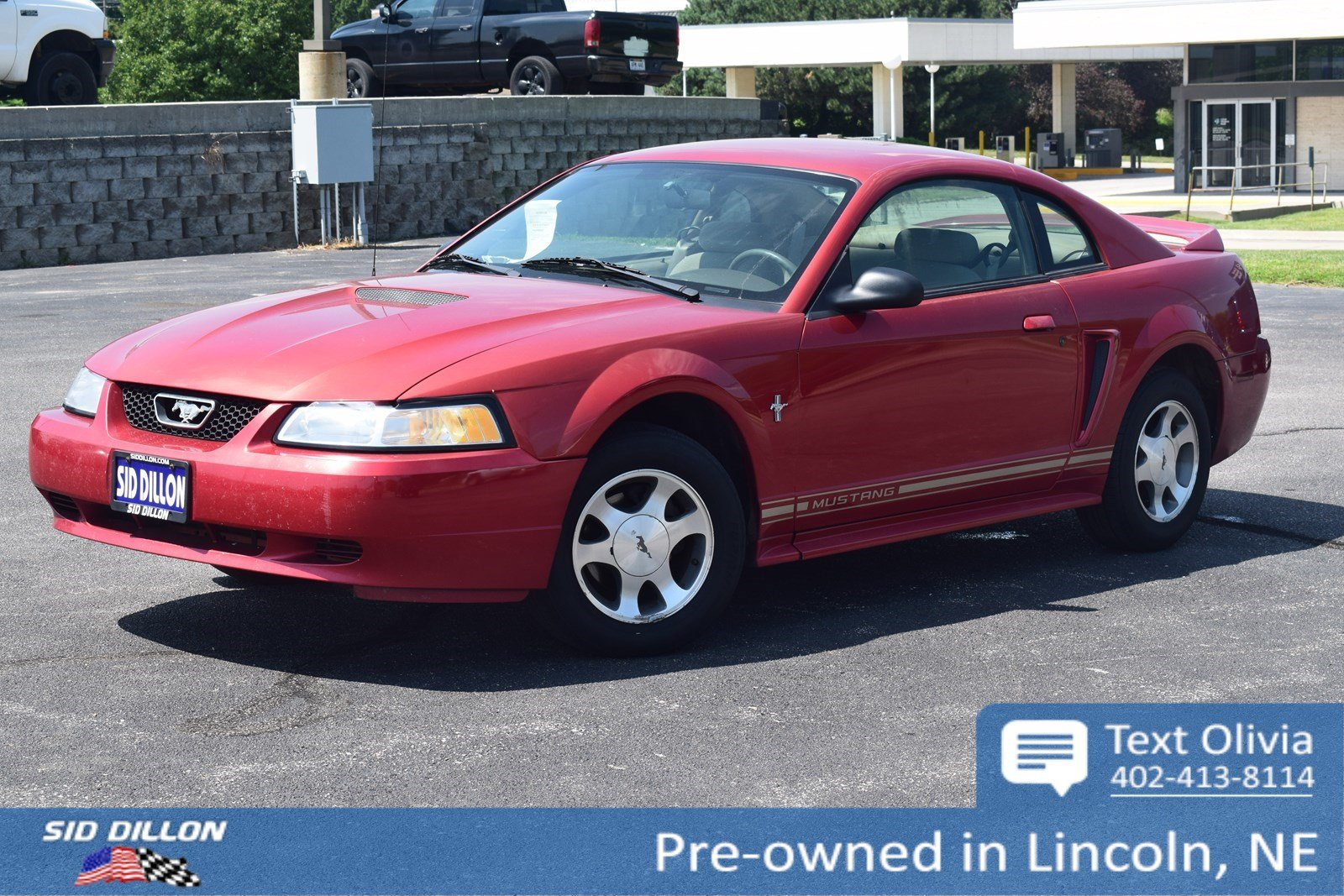 pre owned 2000 ford mustang 2dr cpe 2 door coupe in. Black Bedroom Furniture Sets. Home Design Ideas
