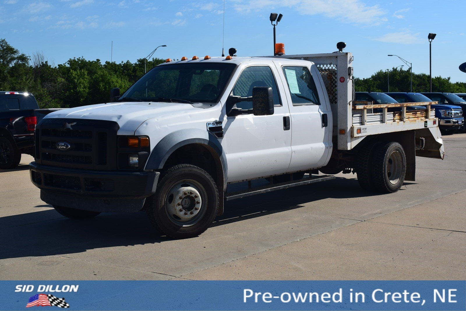 Pre-Owned 2008 Ford Super Duty F-550 DRW XL