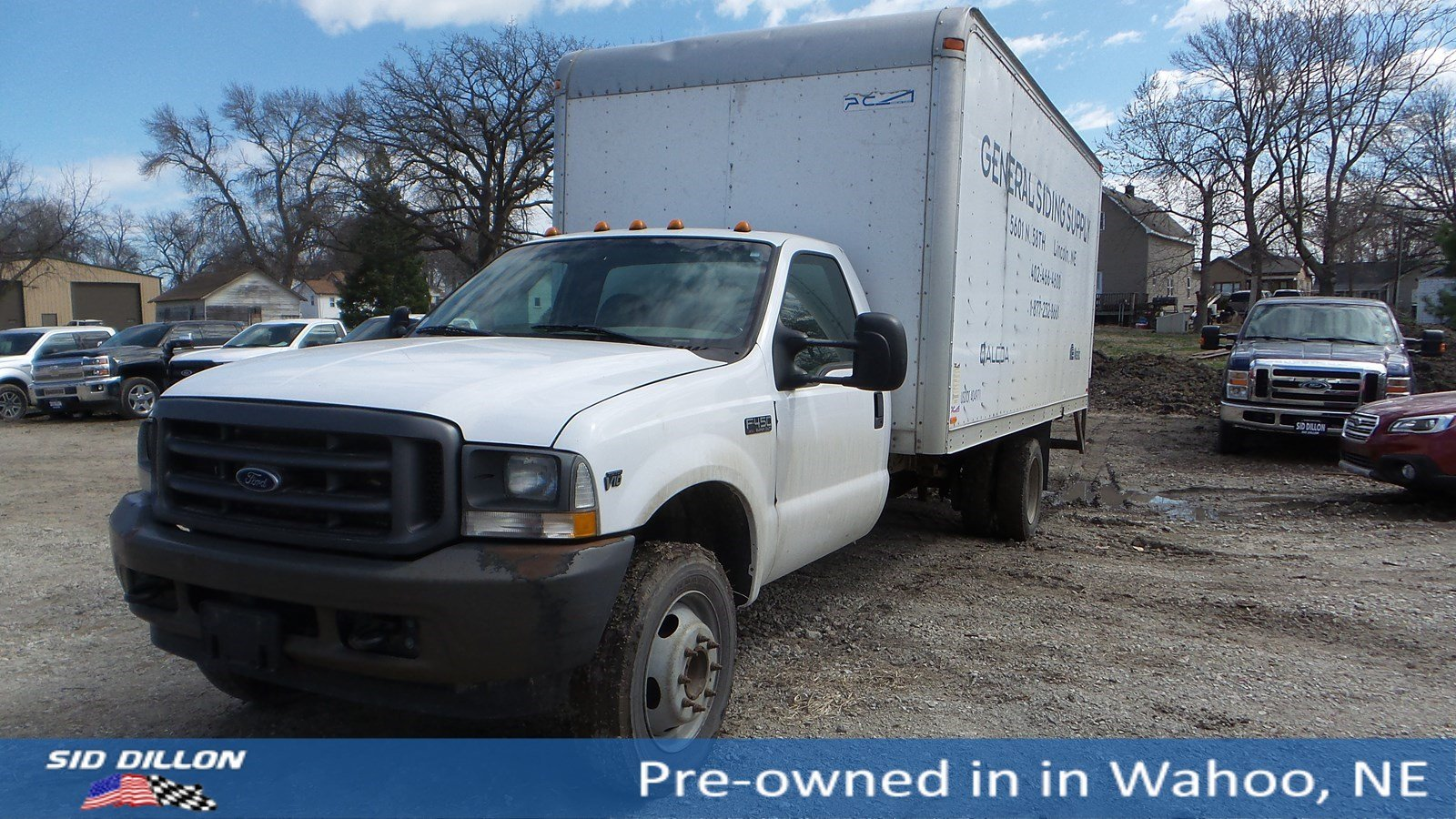 Pre-Owned 2002 Ford F-450 XL