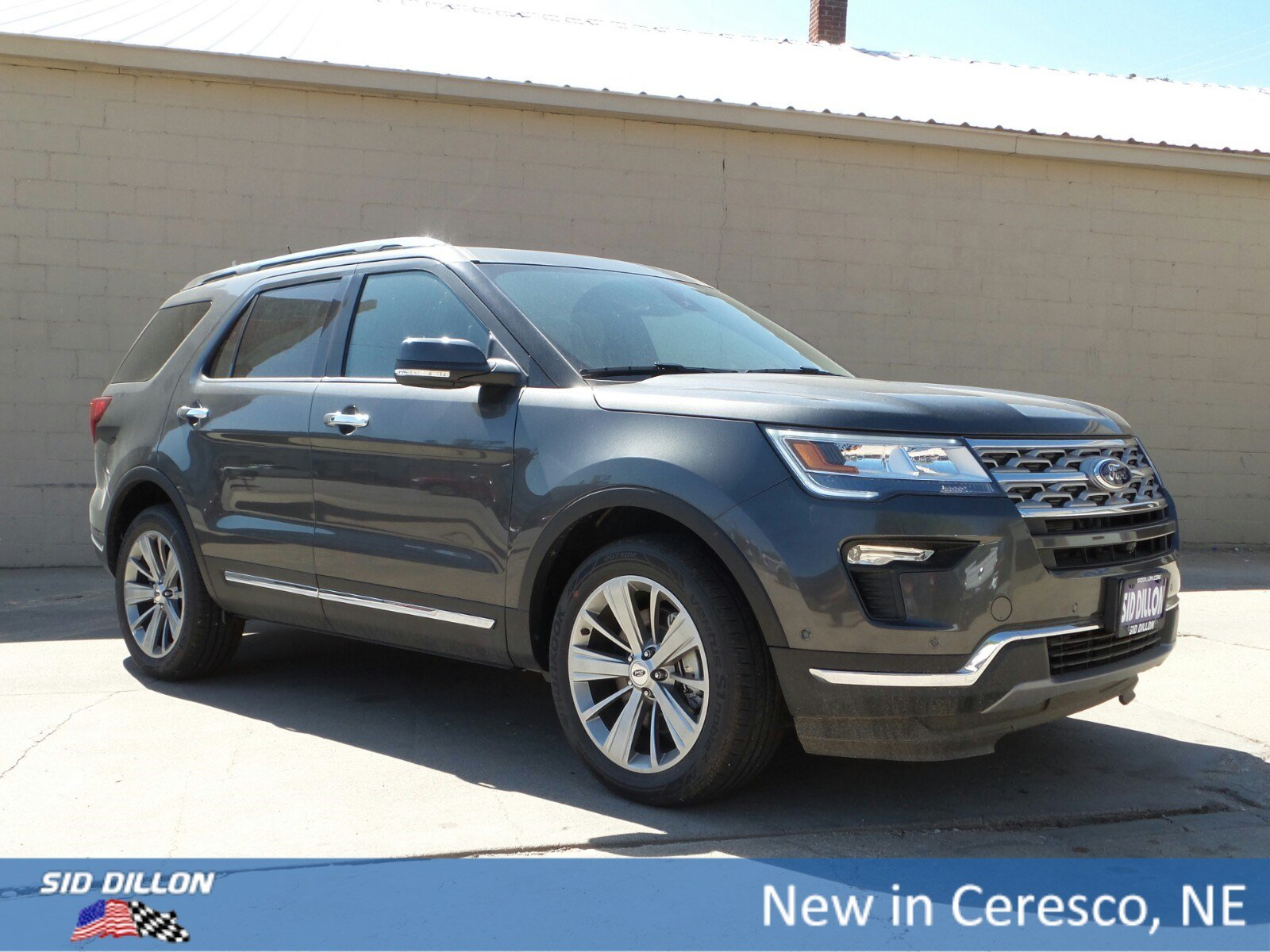 New 2018 Ford Explorer Limited Suv In Ceresco 9j234 Sid Dillon 2006 Check Charging System
