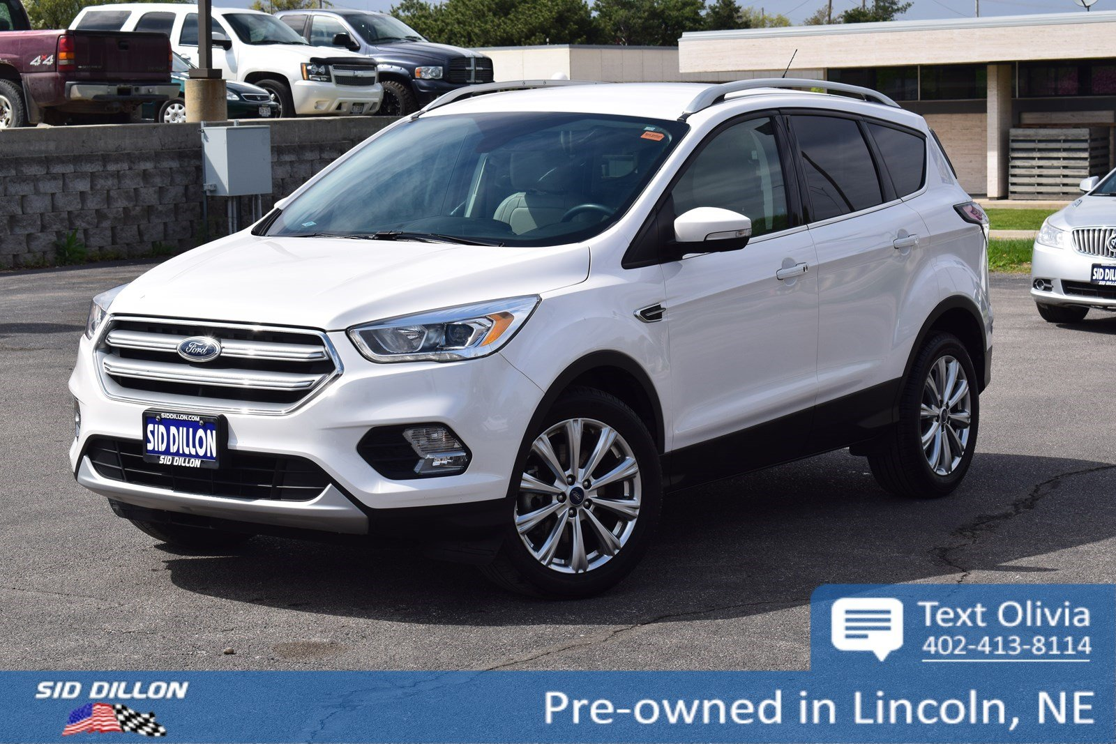 Pre Owned 2017 Ford Escape Anium