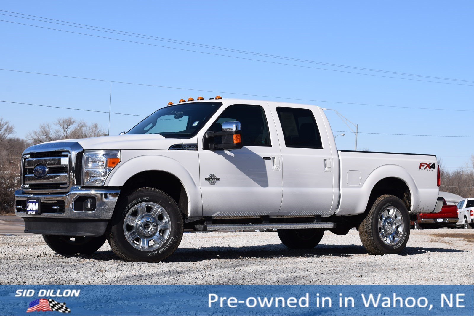 Pre Owned 2016 Ford F 250 Lariat Crew Cab In Wahoo 9h451a Sid
