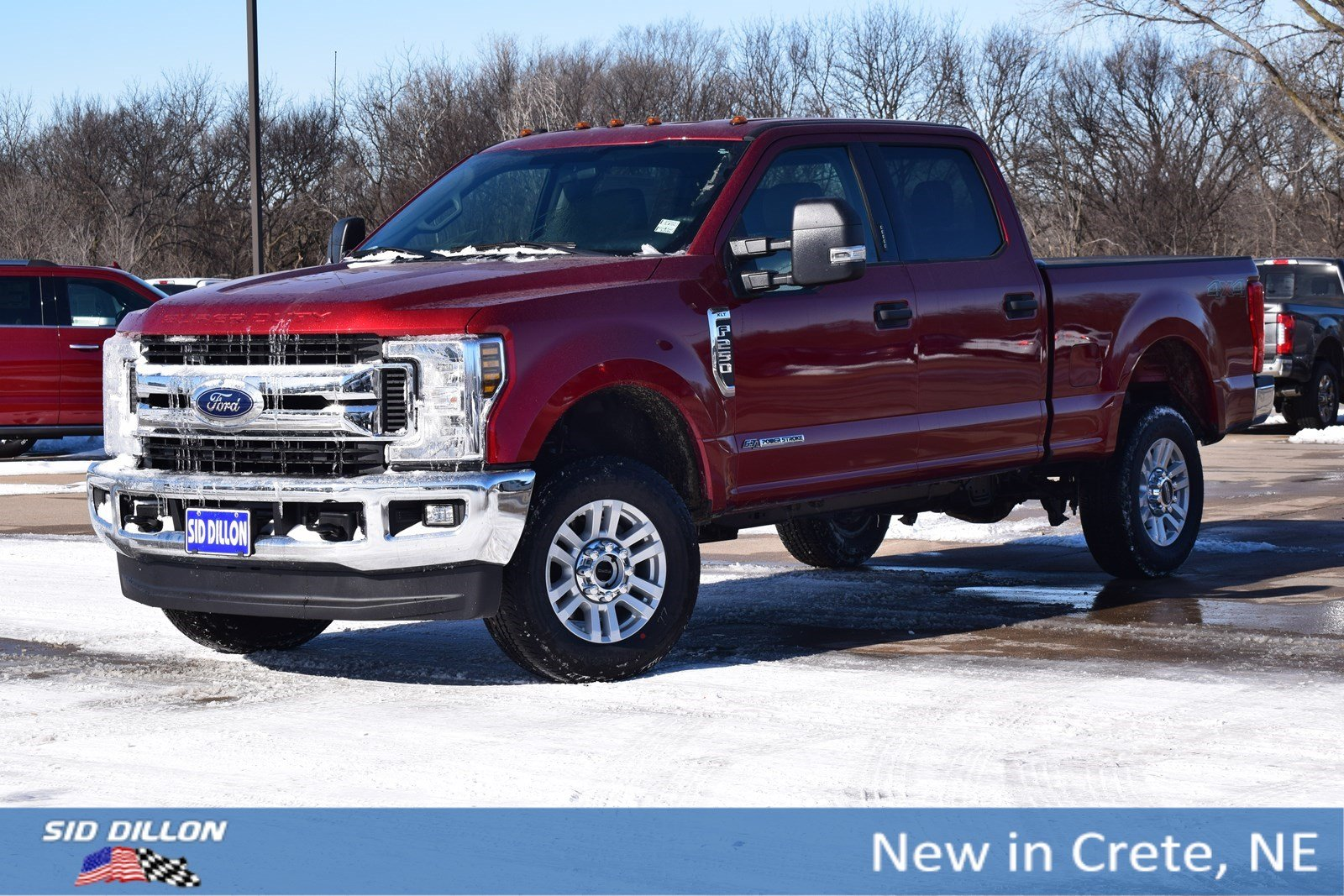 New 2018 Ford F-250 XLT