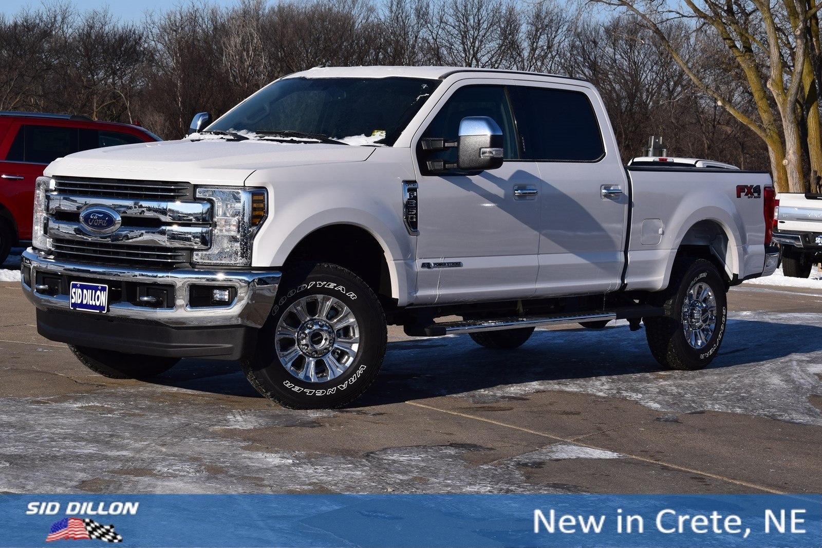 New 2018 Ford F-350 Lariat Crew Cab in Crete #8F3545 | Sid Dillon Auto Group