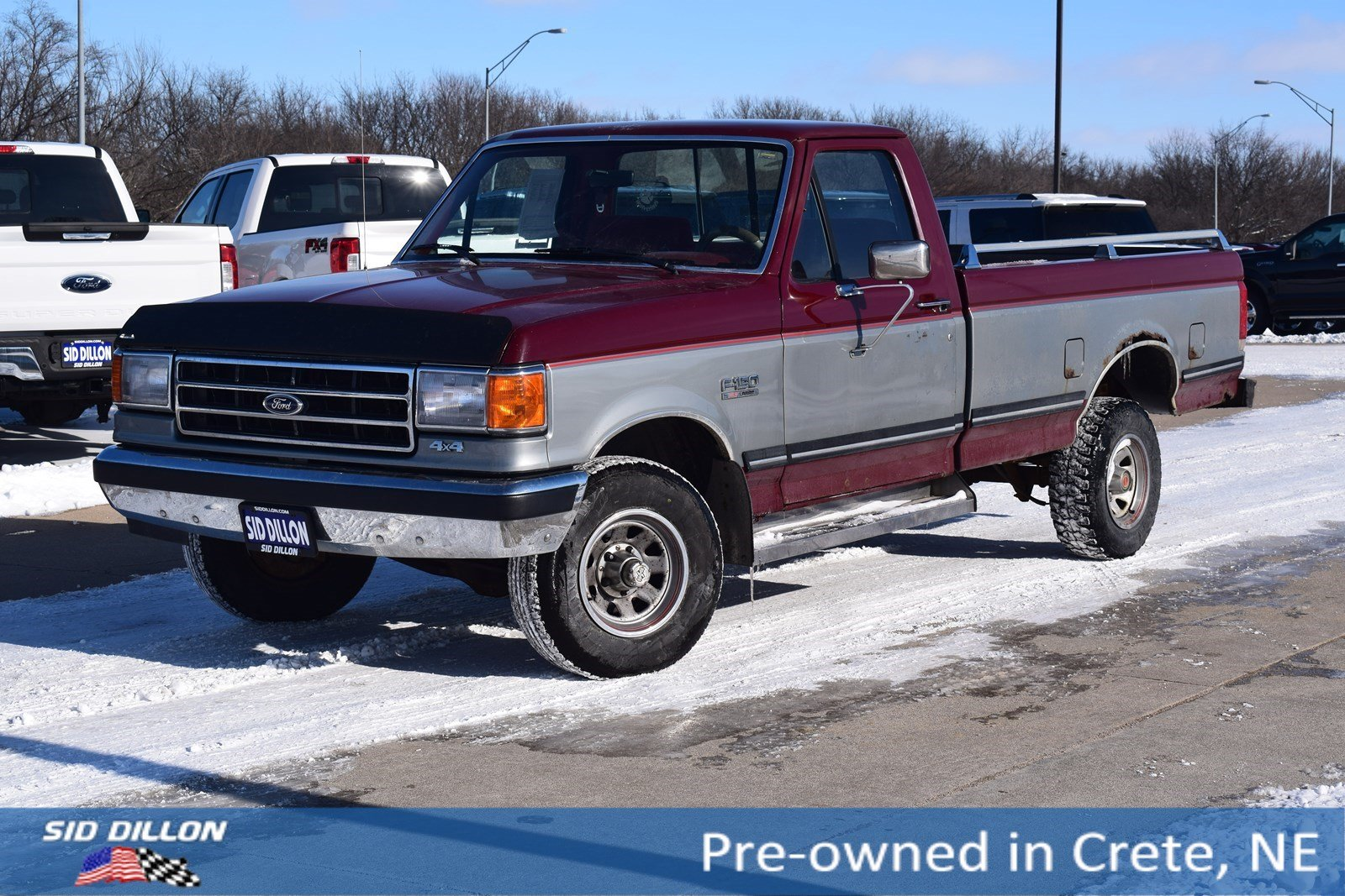 Pre-Owned 1989 Ford 1/2 Ton Trucks REG CAB 4X4 STYLE