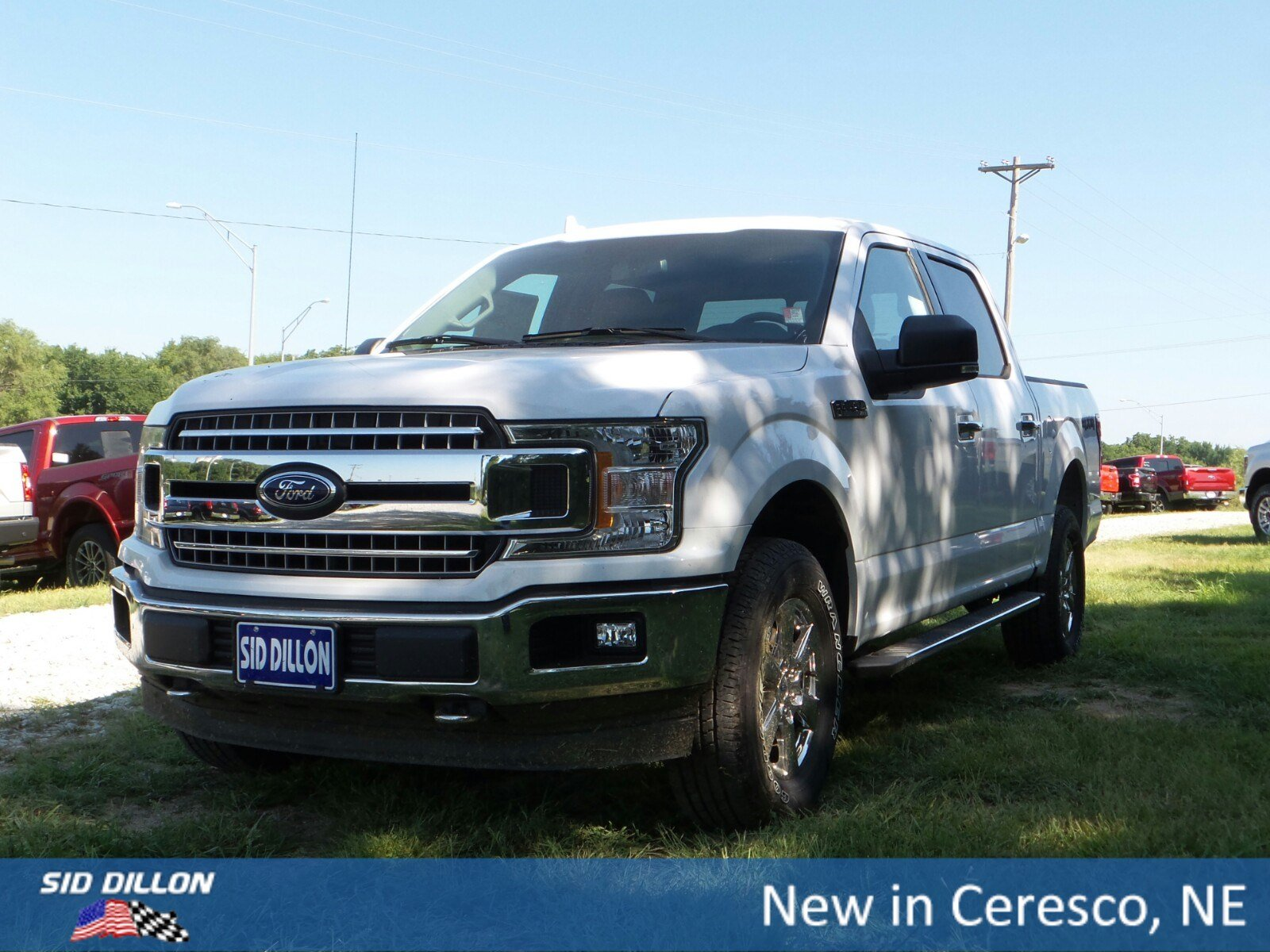New 2018 ford f 150 xlt
