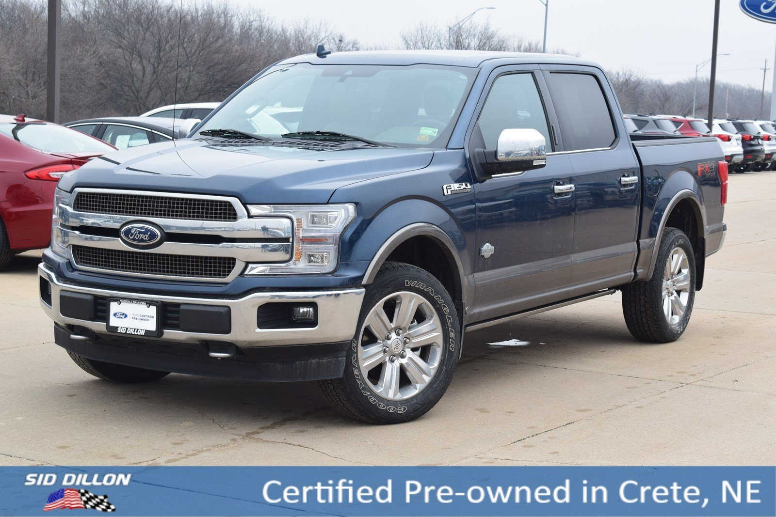 Certified Pre-Owned 2018 Ford F-150 King Ranch