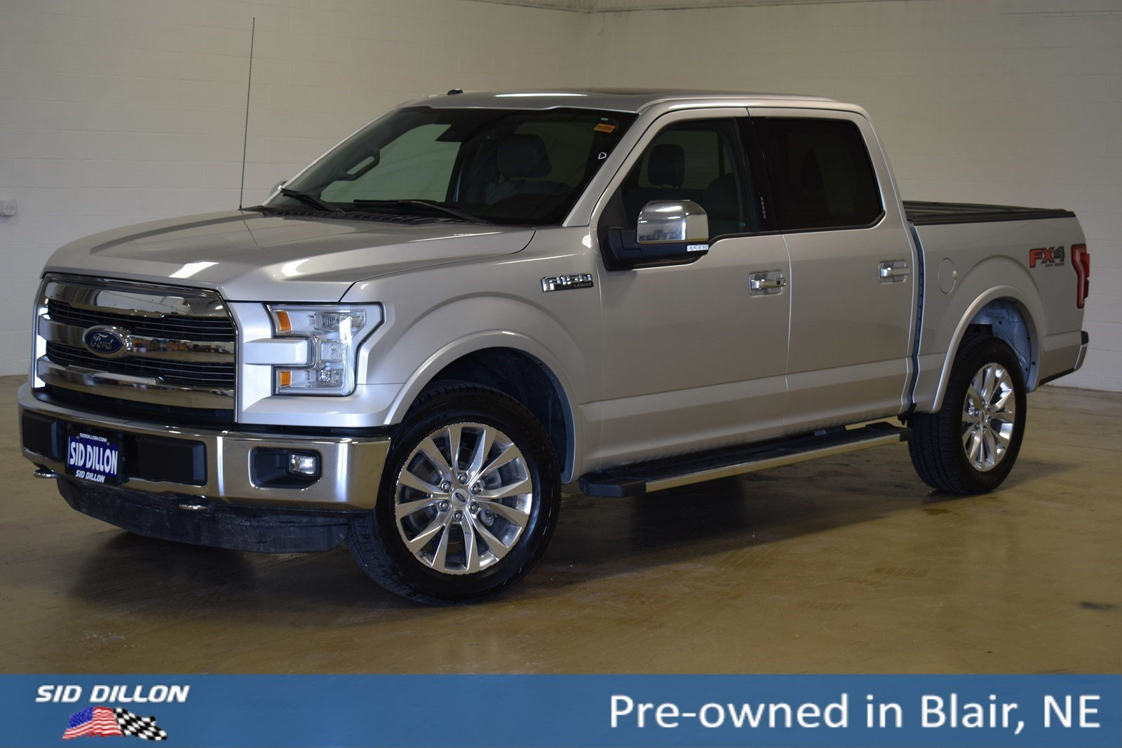 Pre Owned 2015 Ford F 150 Lariat Crew Cab In Blair 39068a Sid