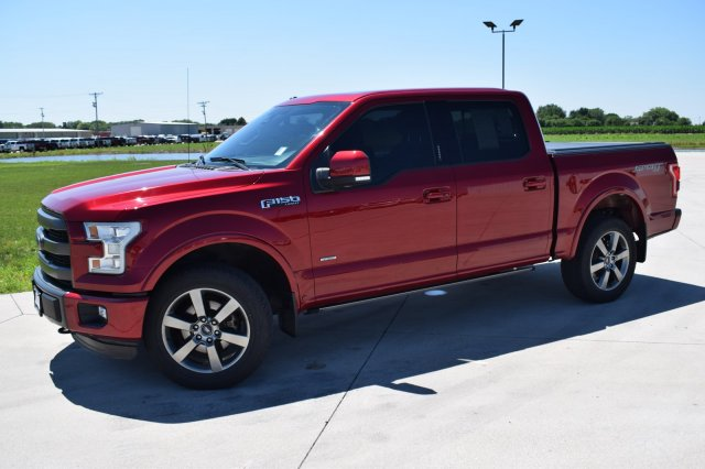 Ford F150 Crew Cab >> Pre Owned 2015 Ford F 150 Lariat Crew Cab In Fremont 1t3831g Sid