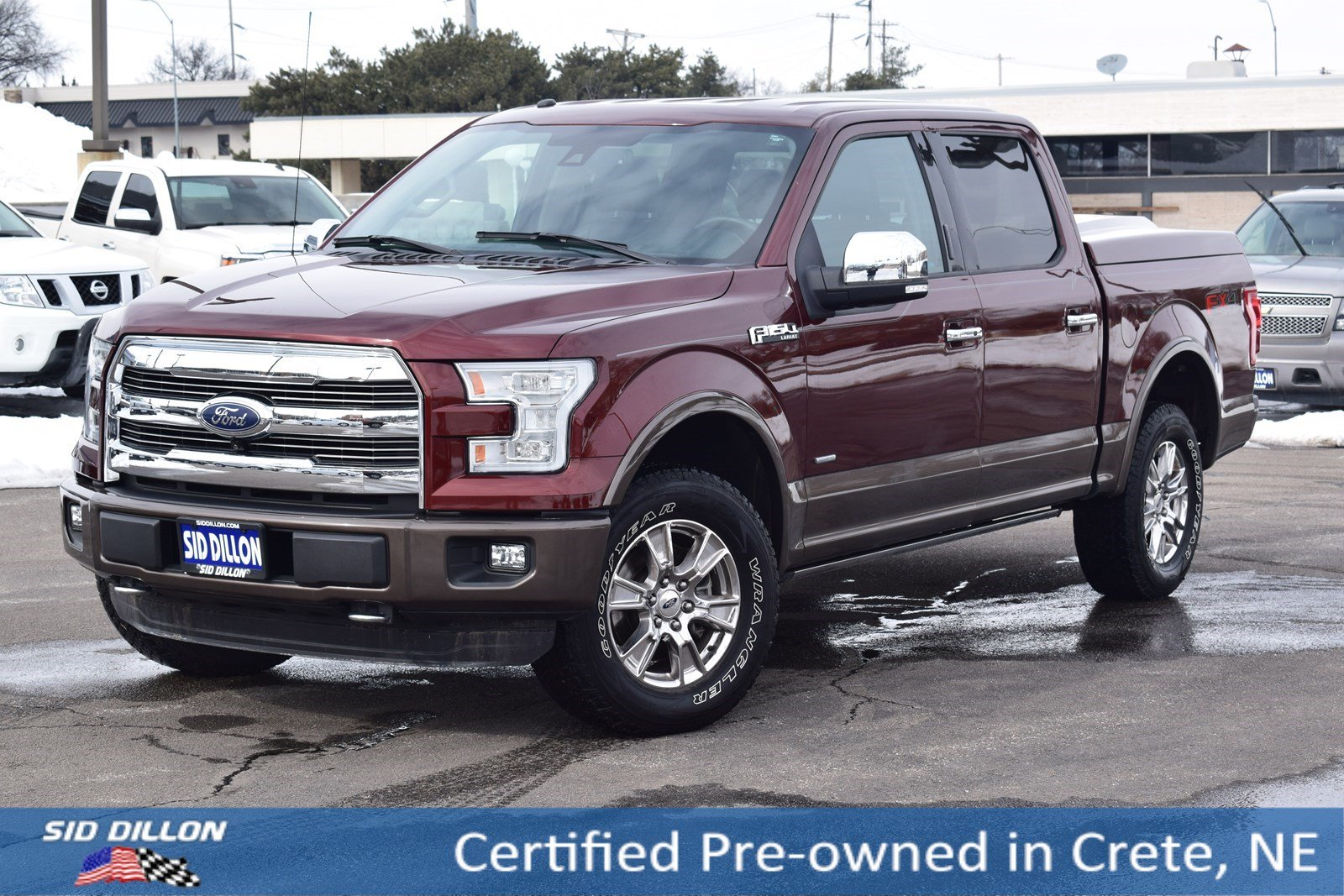 Certified Pre Owned 2016 Ford F 150 Lariat