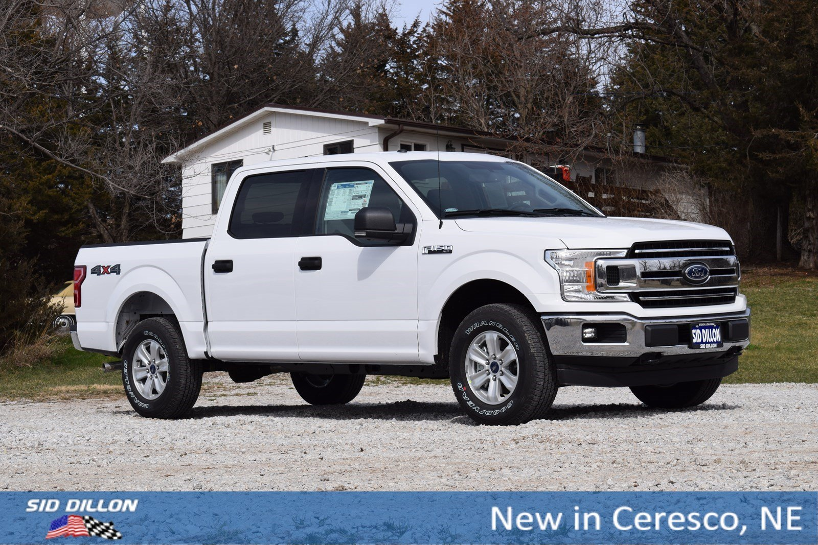 New 2018 Ford F 150 Xlt Crew Cab In Ceresco 9j180 Sid Dillon Auto 2006 Wheels