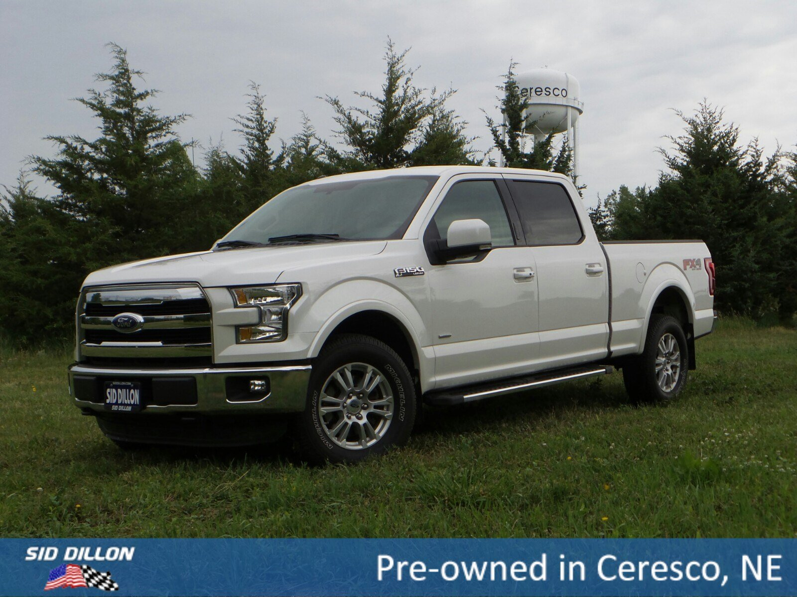 Pre Owned 2015 Ford F 150 Lariat Crew Cab In Ceresco 9j222a Sid