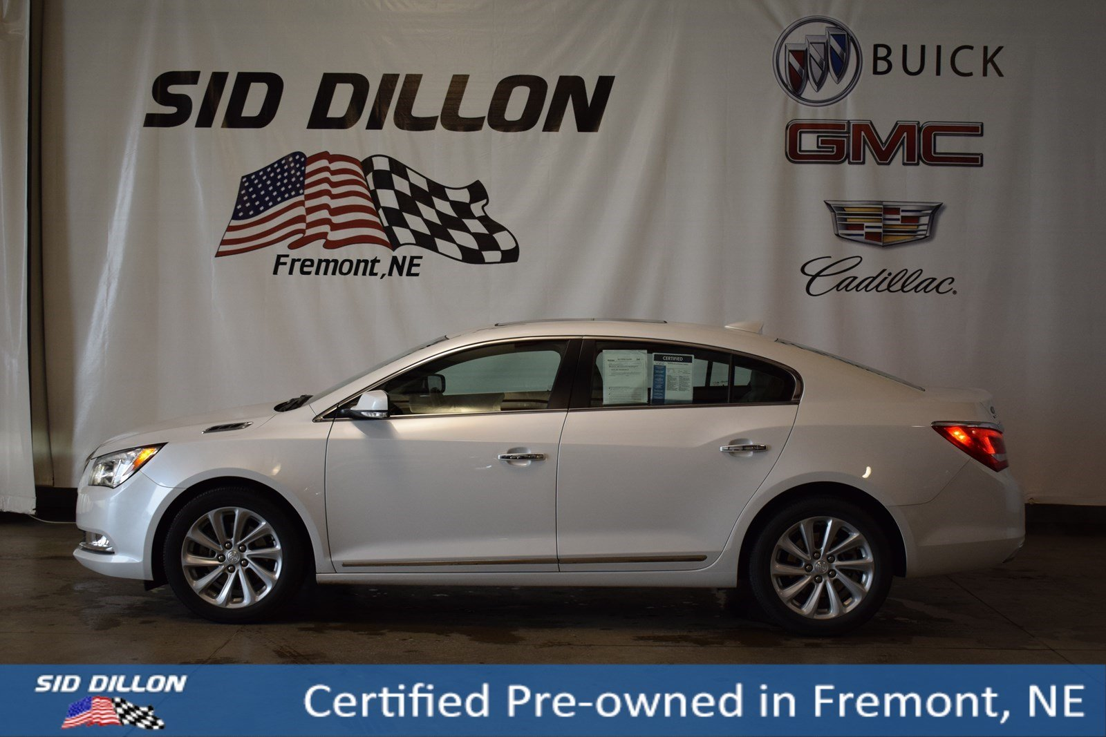 Certified Pre Owned 2016 Buick Lacrosse Leather