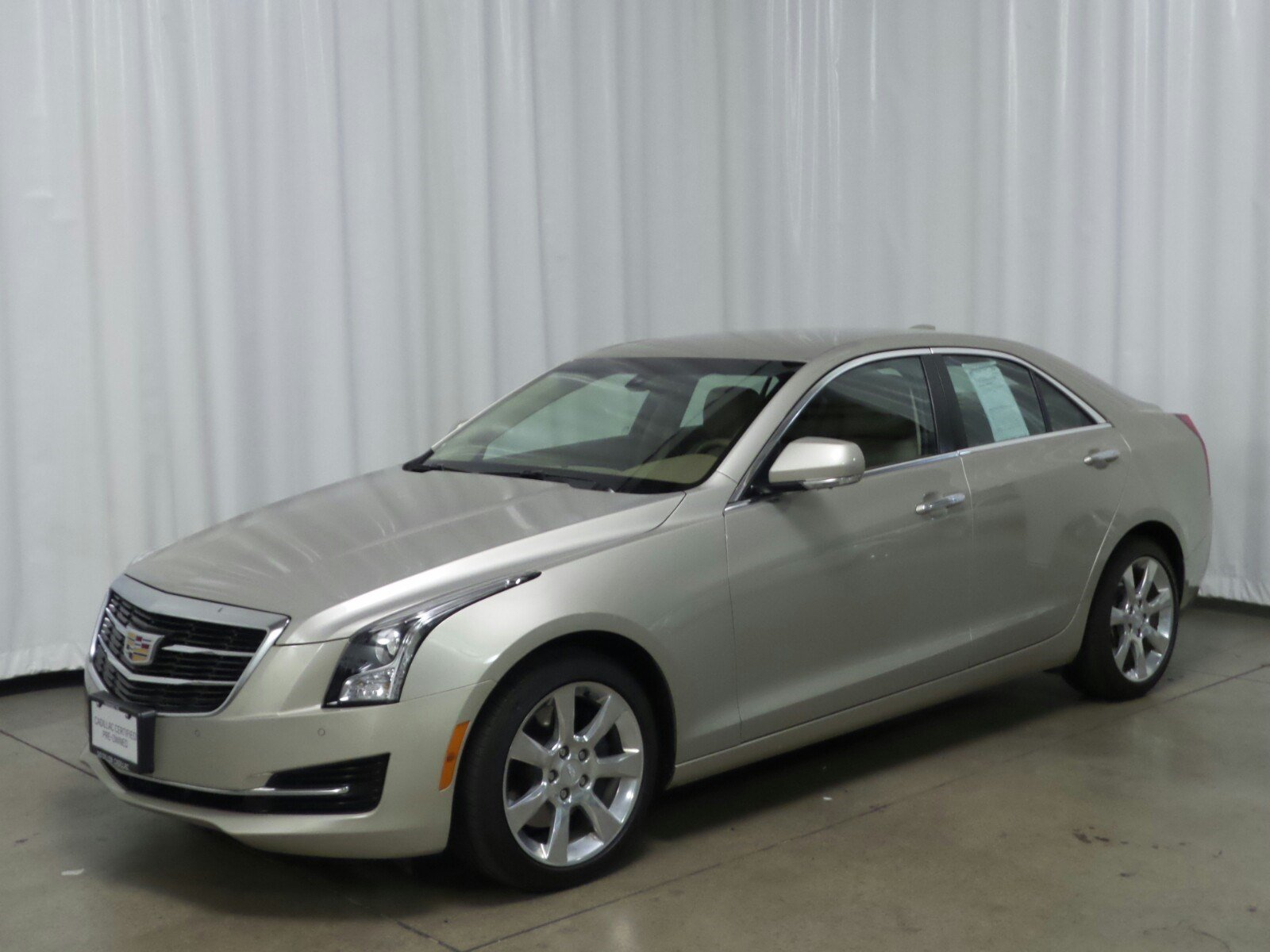 Certified Pre Owned 2015 Cadillac Ats Luxury Awd Awd