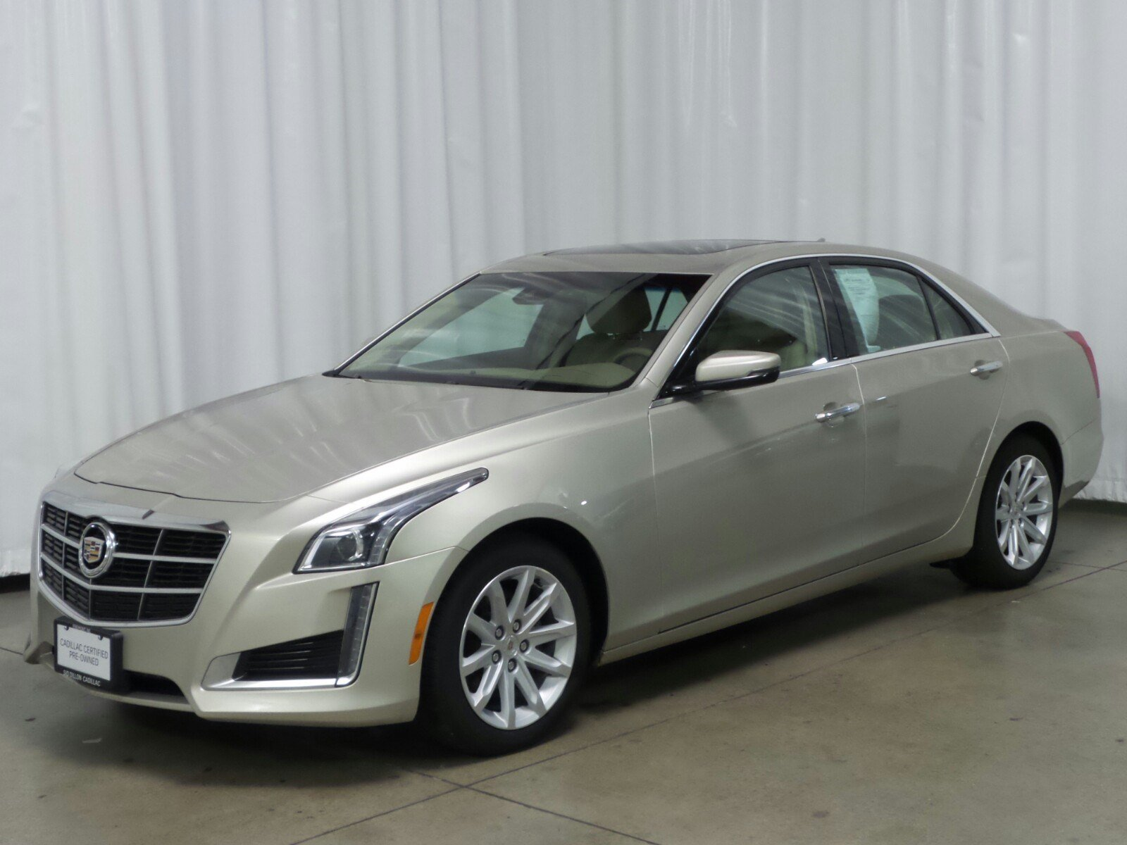 Certified Pre-Owned 2014 Cadillac CTS Luxury AWD