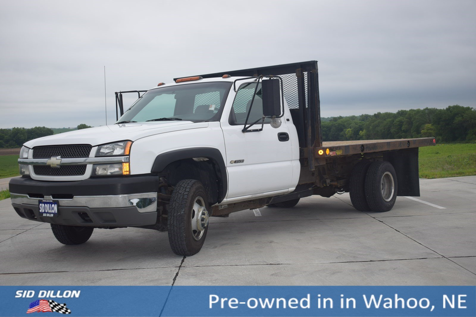 Pre-Owned 2004 Chevrolet Silverado 3500HD WT