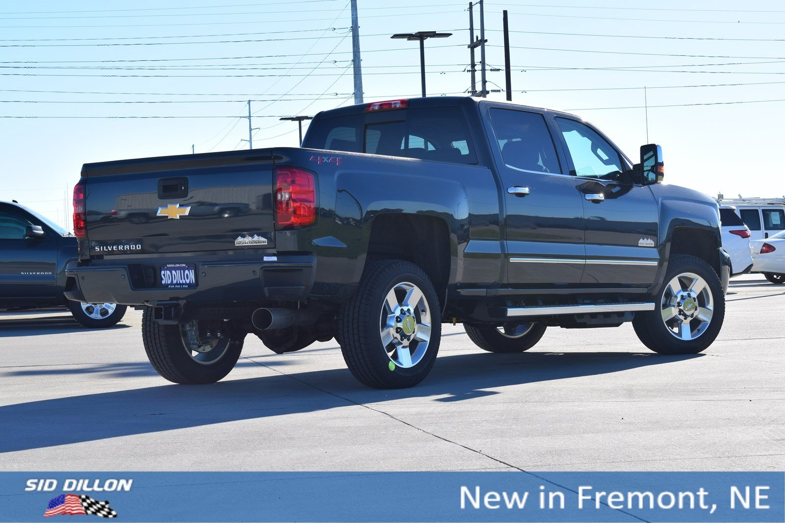 New 2019 Chevrolet Silverado 2500hd High Country Crew Cab In Fremont Tow Vehicle Alternator To Trailer Battery Wiring 7way Ford Truck 1t19292 Sid Dillon Auto Group