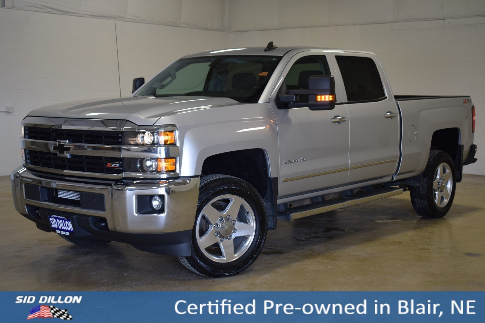 Certified Pre Owned 2015 Chevrolet Silverado 2500HD LT Crew Cab in