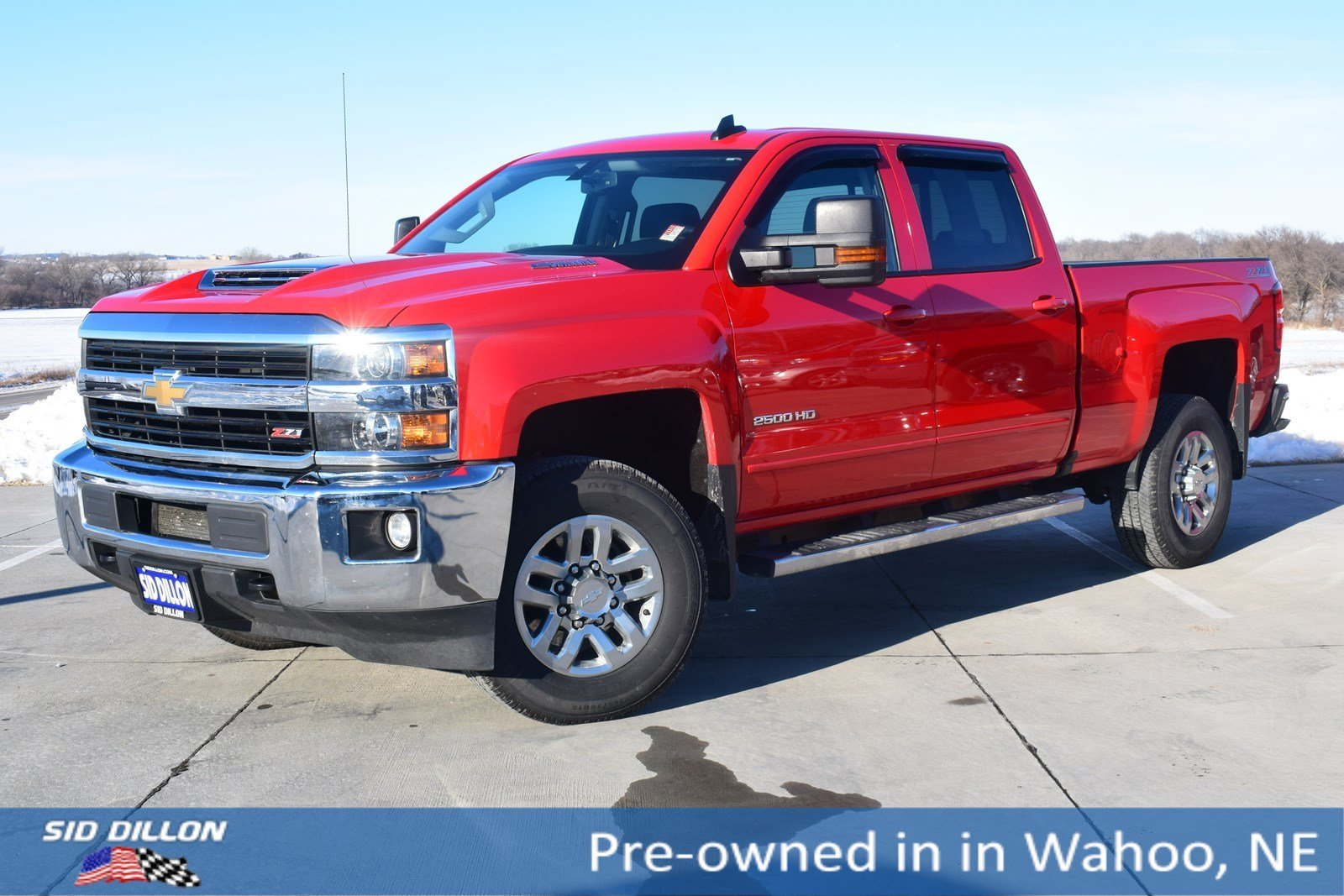 Pre Owned 2017 Chevrolet Silverado 2500hd Lt