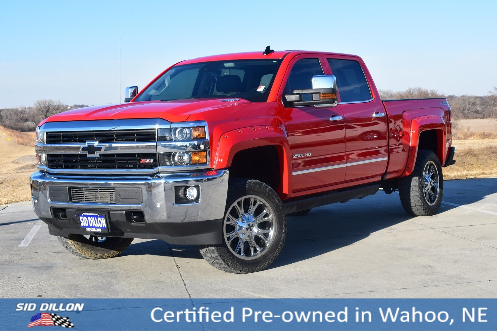 Certified Pre Owned 2016 Chevrolet Silverado 2500hd Ltz