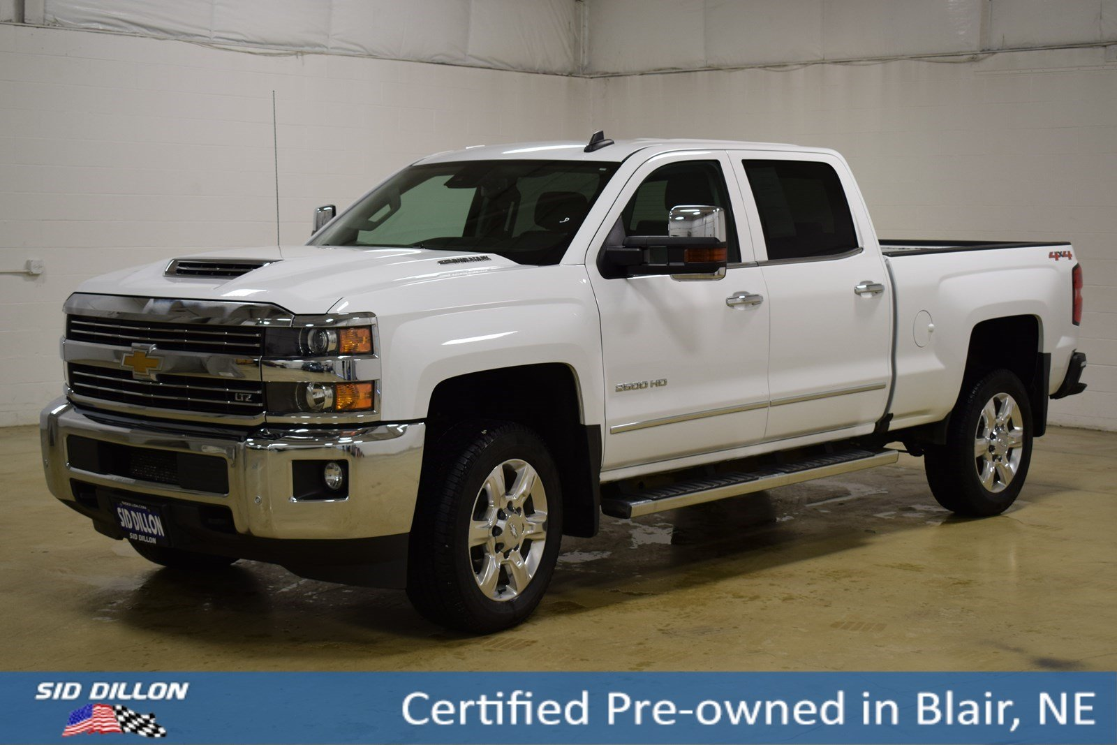 Certified Pre Owned 2017 Chevrolet Silverado 2500hd Ltz