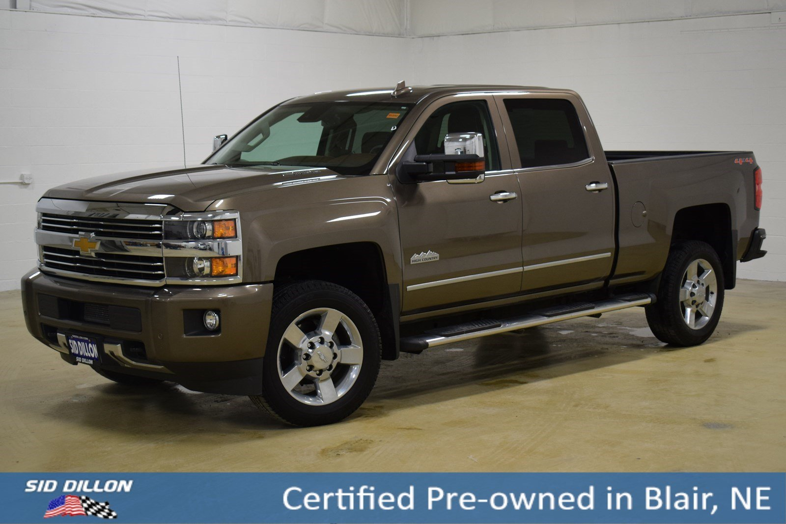 Certified Pre-Owned 2015 Chevrolet Silverado 2500HD High Country
