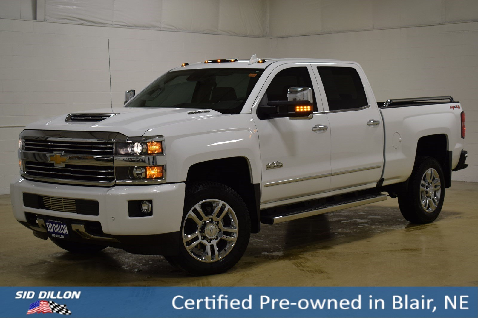 Certified Pre Owned 2017 Chevrolet Silverado 2500hd High Country