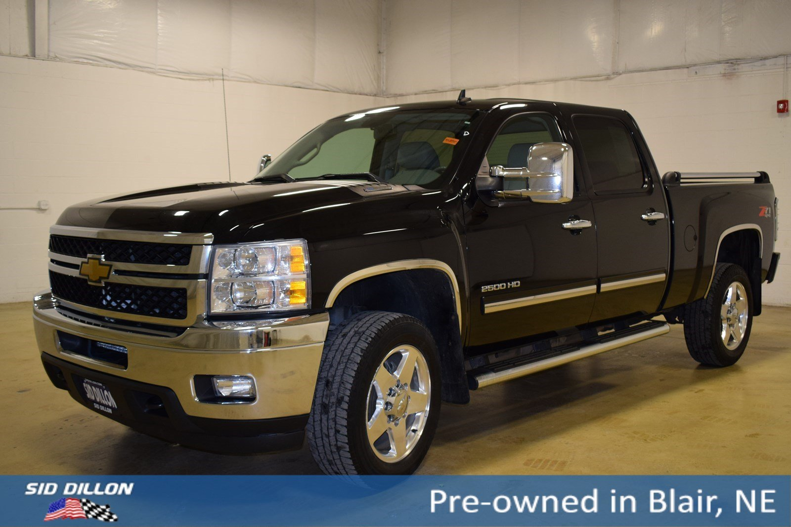 Pre-Owned 2011 Chevrolet Silverado 2500HD LTZ
