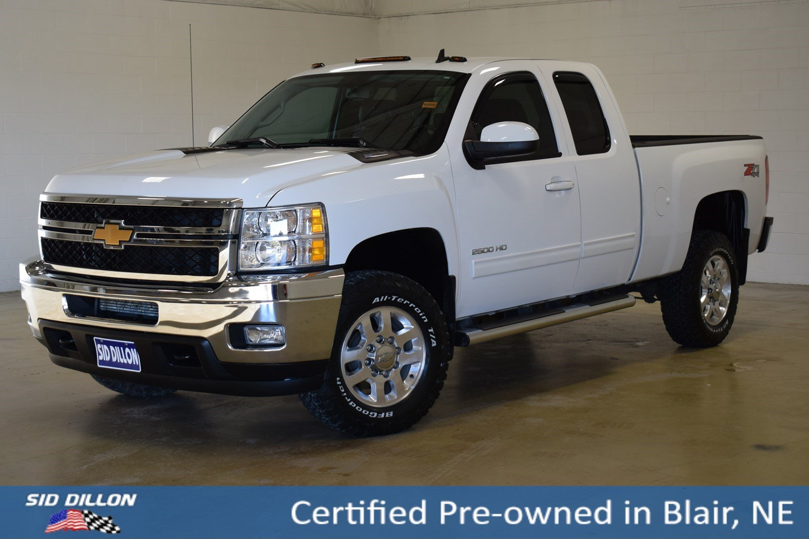 Certified Pre-Owned 2013 Chevrolet Silverado 2500HD LTZ