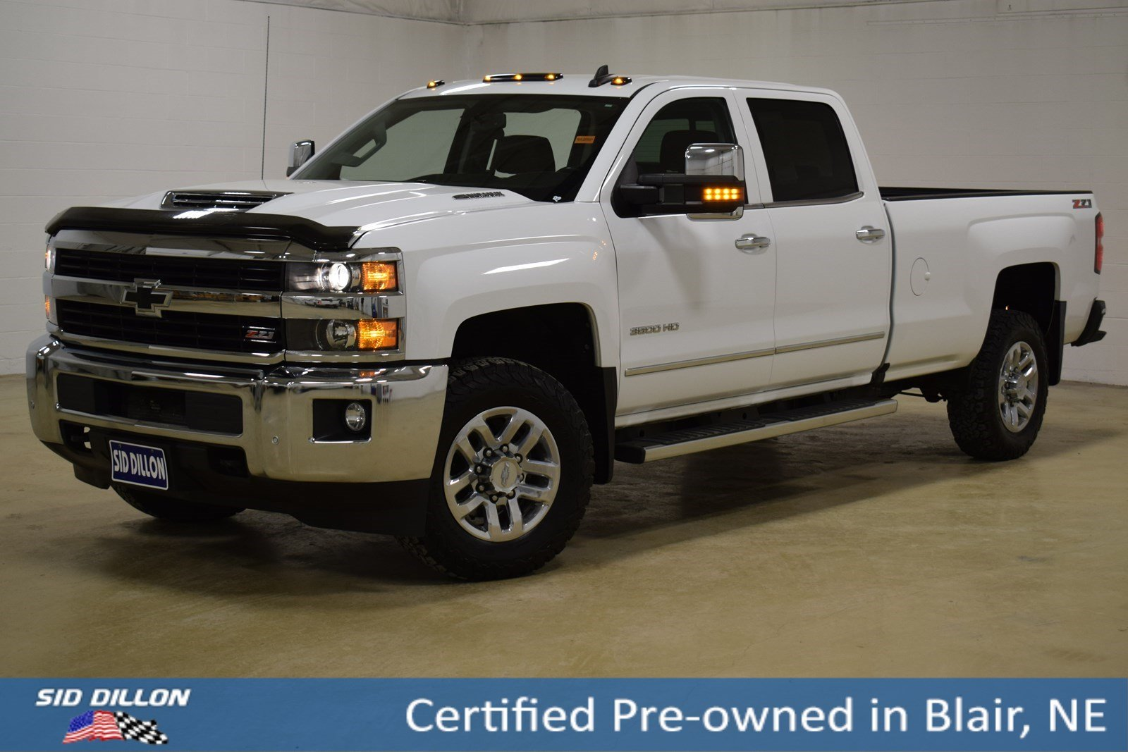Certified Pre Owned 2017 Chevrolet Silverado 3500hd Ltz