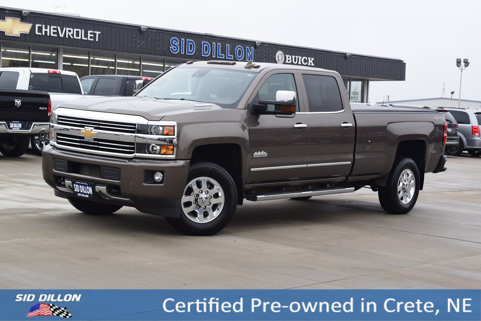 Certified Pre-Owned 2015 Chevrolet Silverado 3500HD High Country