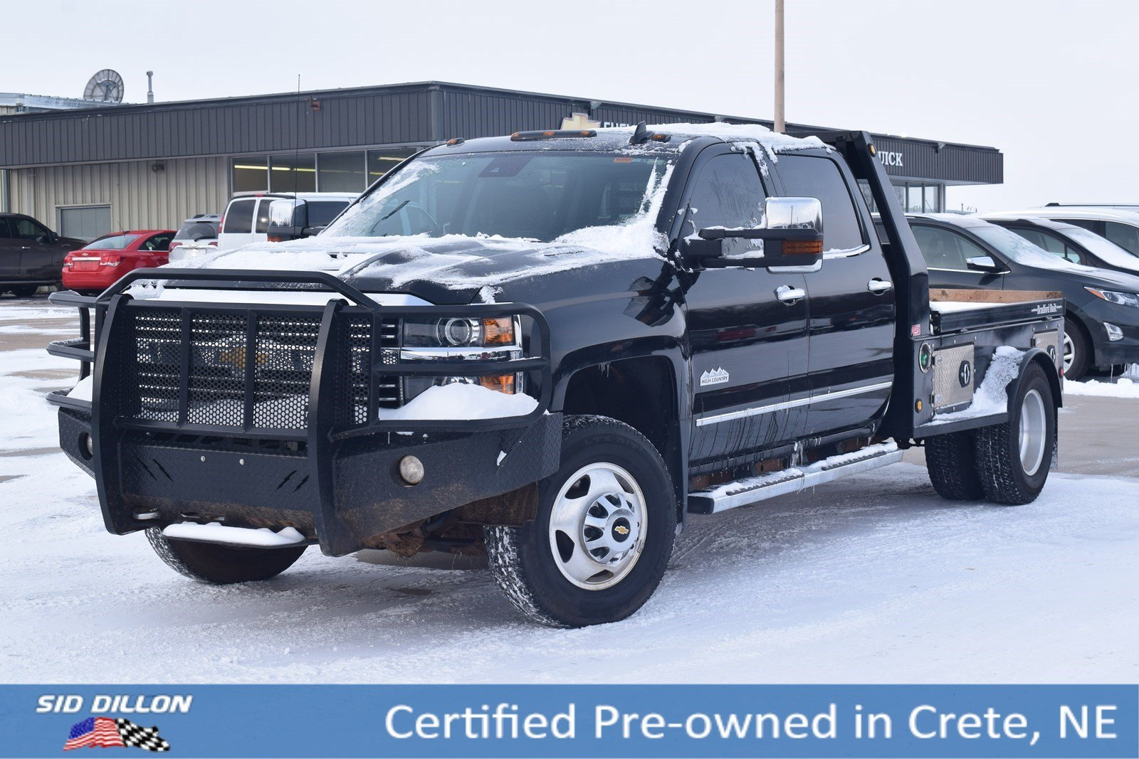 Certified Pre-Owned 2017 Chevrolet Silverado 3500HD High Country