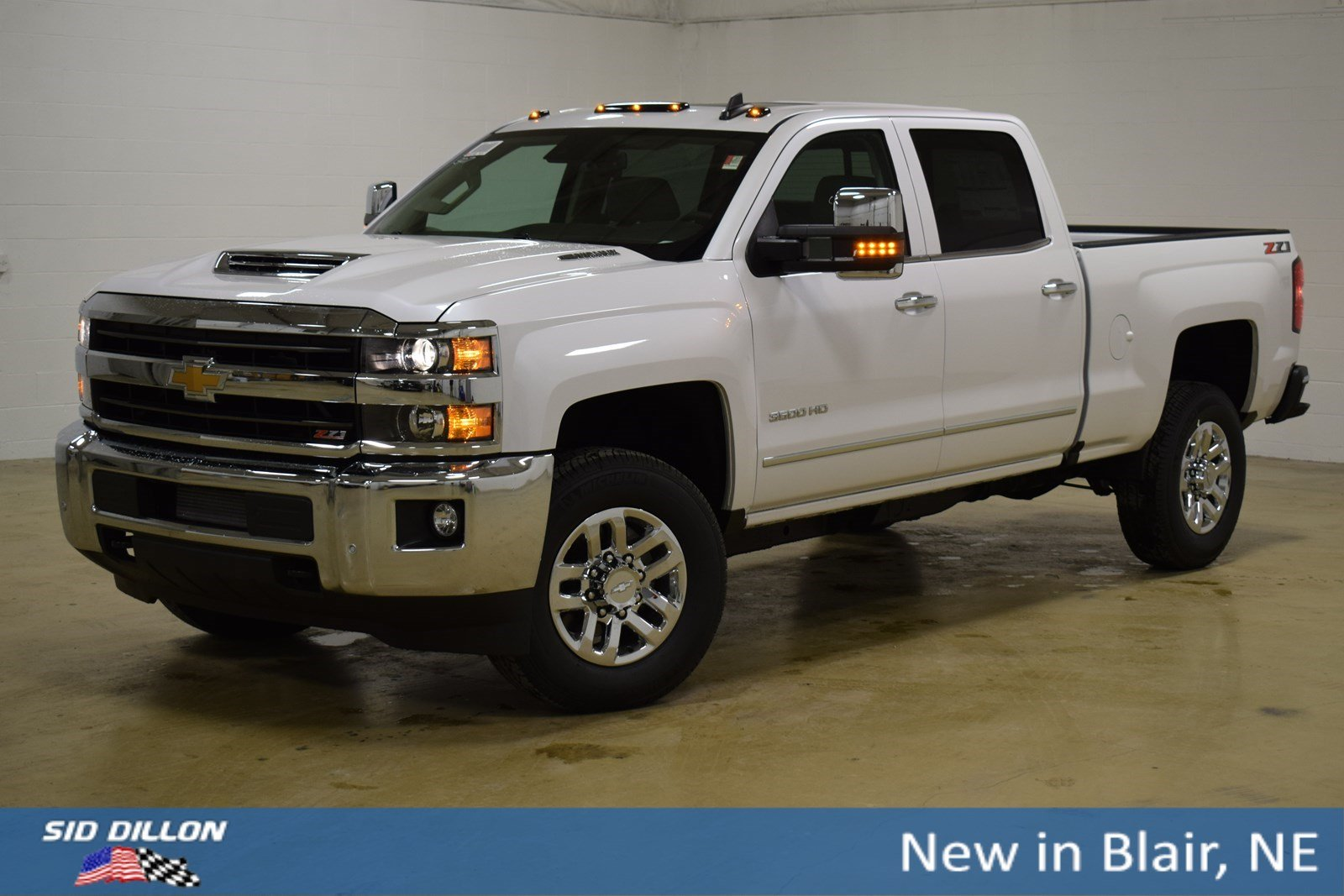 e2385c20e6 New 2019 Chevrolet Silverado 3500HD LTZ Crew Cab in Blair  319211 ...