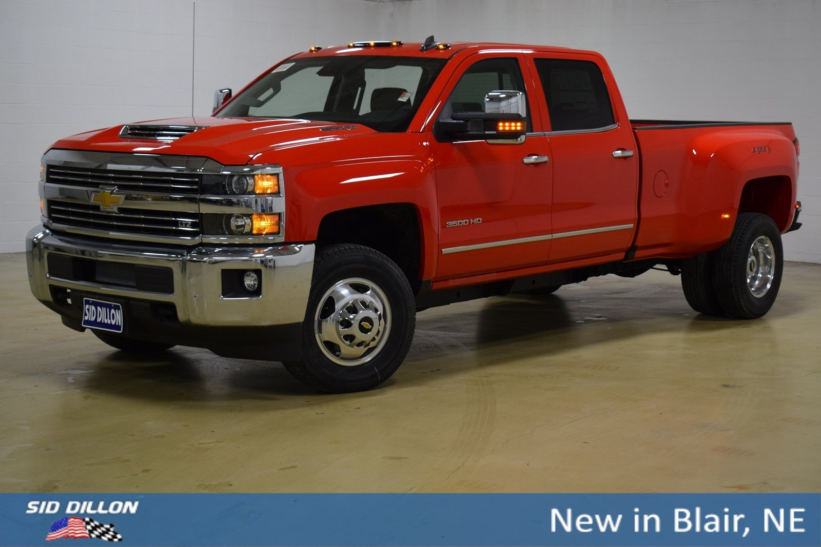 4140ddc706 New 2019 Chevrolet Silverado 3500HD LTZ Crew Cab in Blair  319212 ...