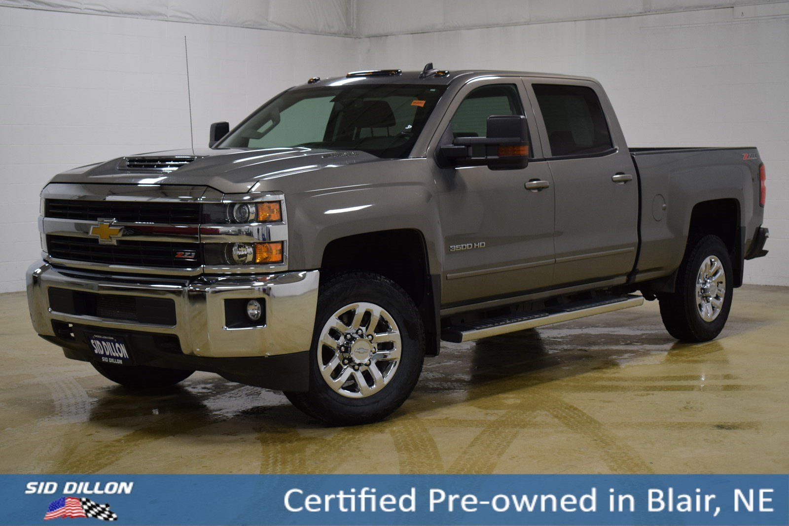 Certified Pre-Owned 2017 Chevrolet Silverado 3500HD LT