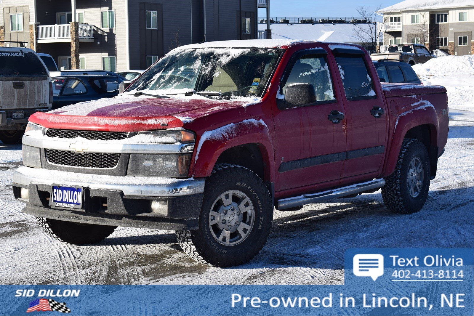 Pre-Owned 2008 Chevrolet Colorado LT w/2LT