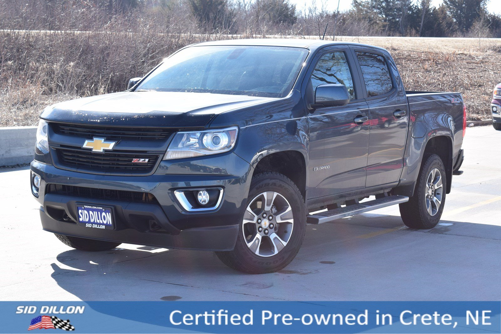 Certified Pre Owned 2019 Chevrolet Colorado 4wd Z71 Crew Cab In