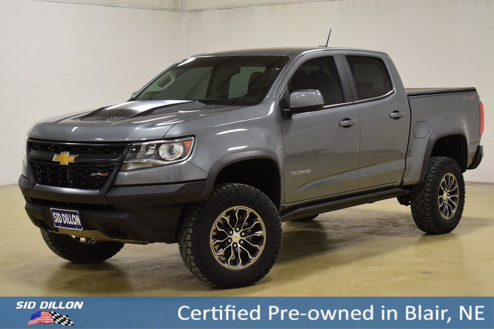 Chevy Colorado 2018 >> Certified Pre Owned 2018 Chevrolet Colorado 4wd Zr2 4wd