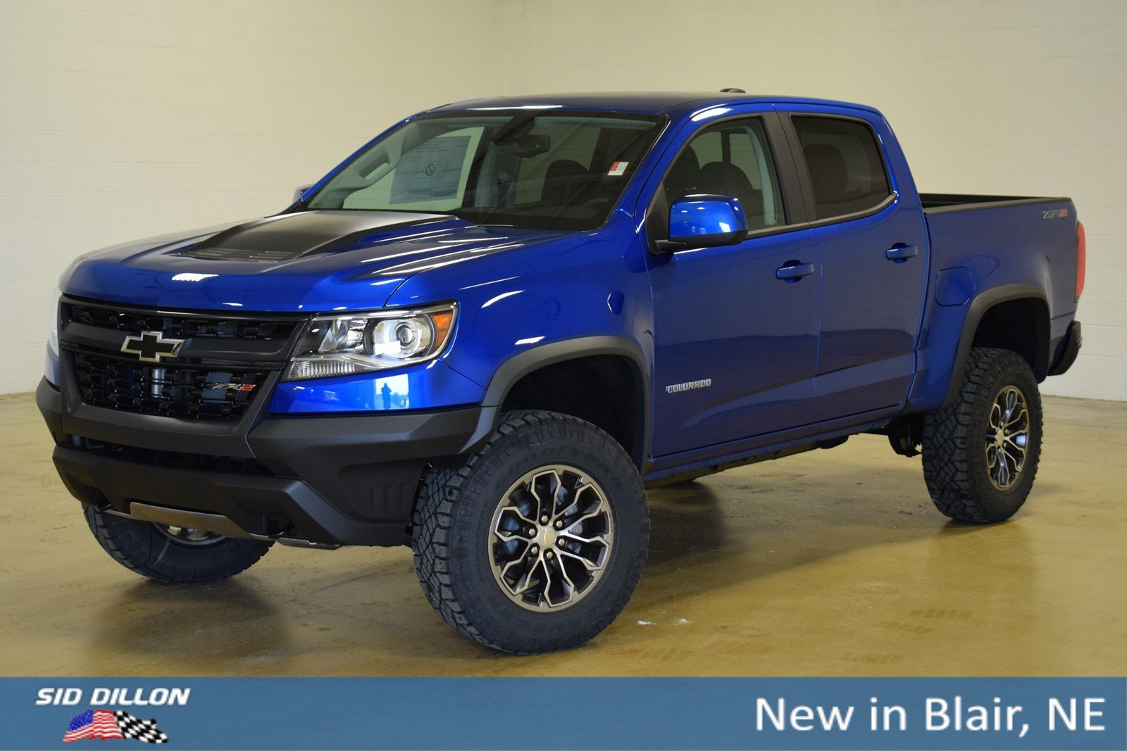 New 2019 Chevrolet Colorado 4WD ZR2 Crew Cab In Blair