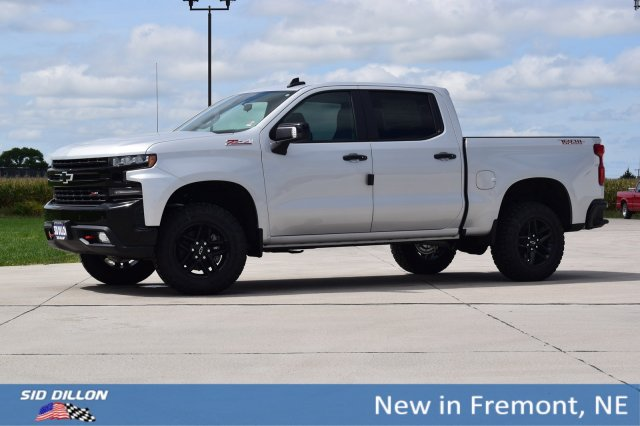 New 2019 Chevrolet Silverado 1500 Lt Trail Boss Crew Cab In Fremont