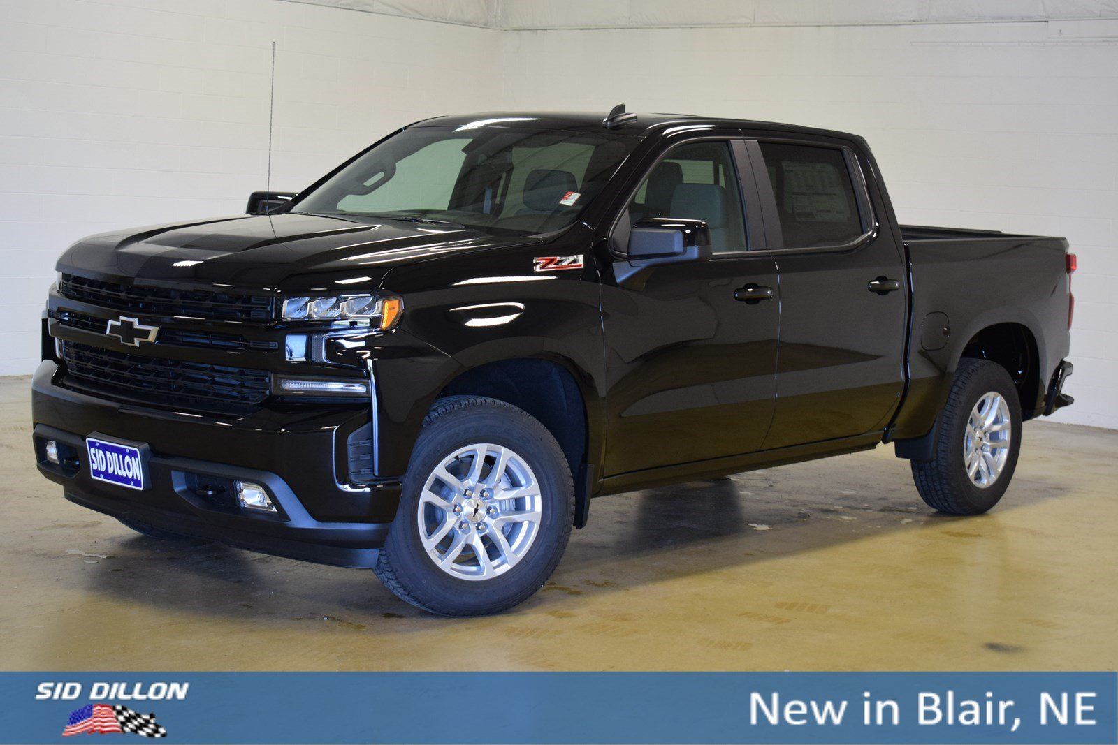 New 2019 Chevrolet Silverado 1500 Rst Crew Cab In Blair 319088