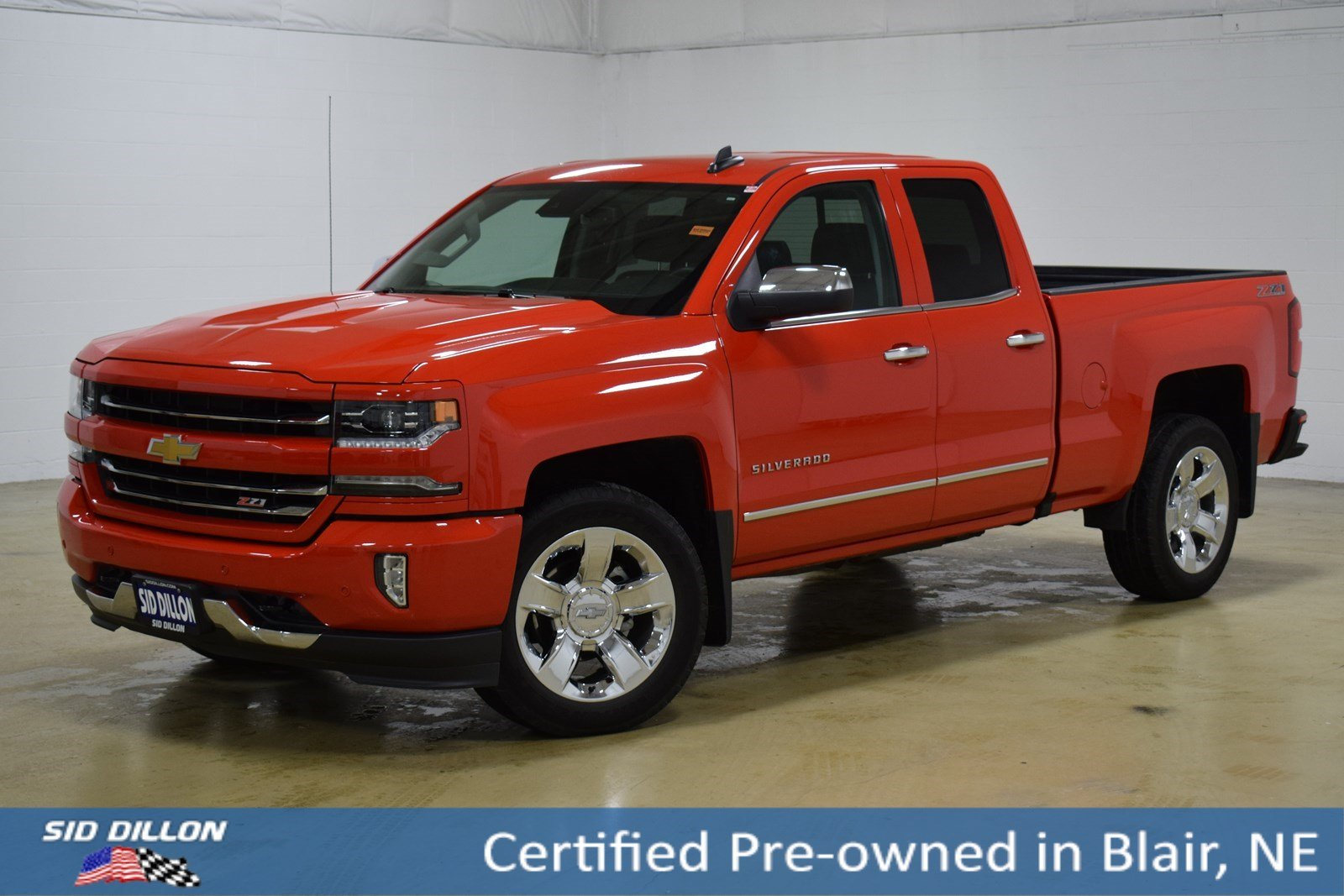 Certified Pre Owned 2017 Chevrolet Silverado 1500 Ltz