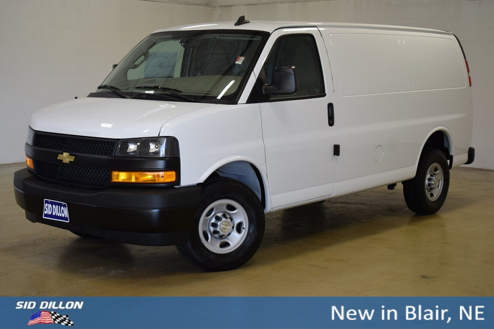 Chevy Express Van >> New 2019 Chevrolet Express Cargo Van Cargo Van In Blair 3191426