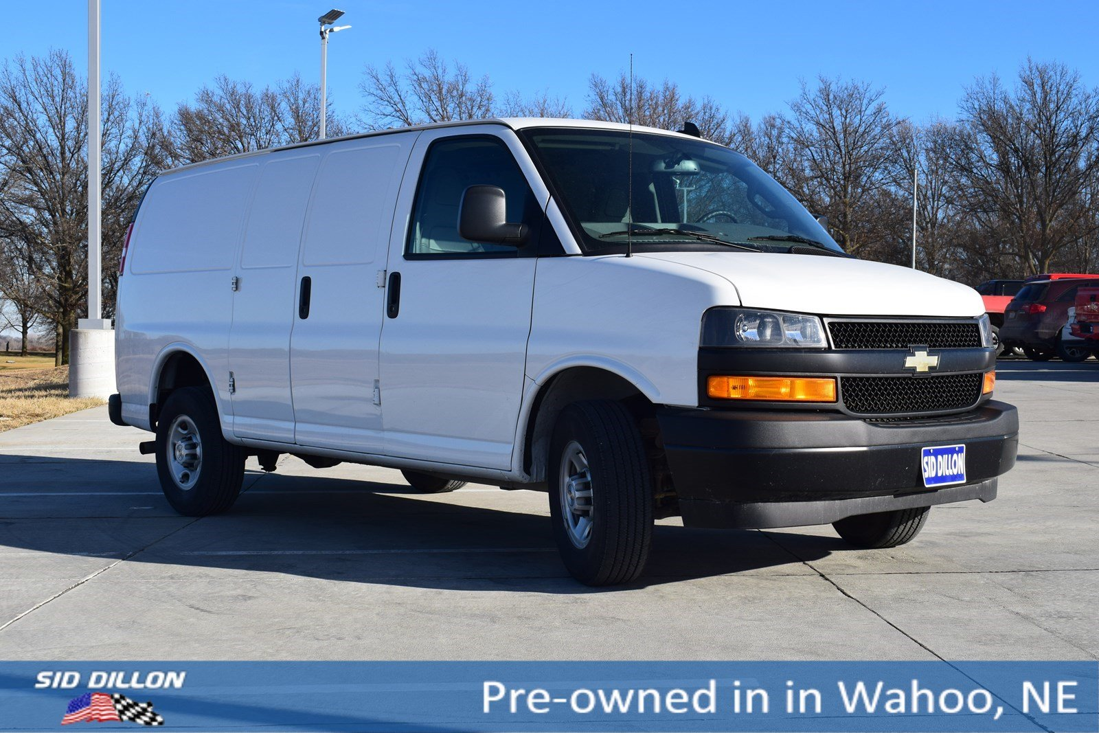 80d103b750a7 Pre-Owned 2018 Chevrolet Express Cargo Van 2500 RWD 135 Cargo Van in ...